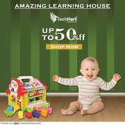 Techhark Learning House   Attractive and Colorful Educational Toy
